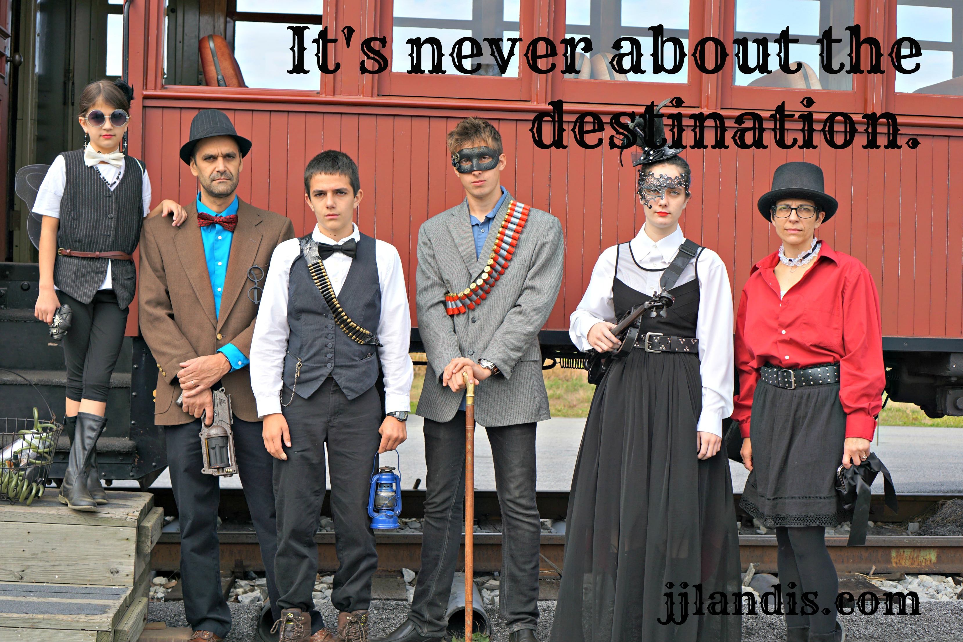 our steampunk experience